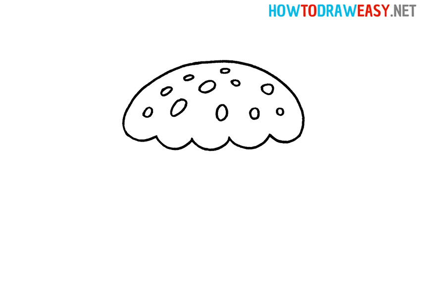 How to Draw an Easy Cupcake