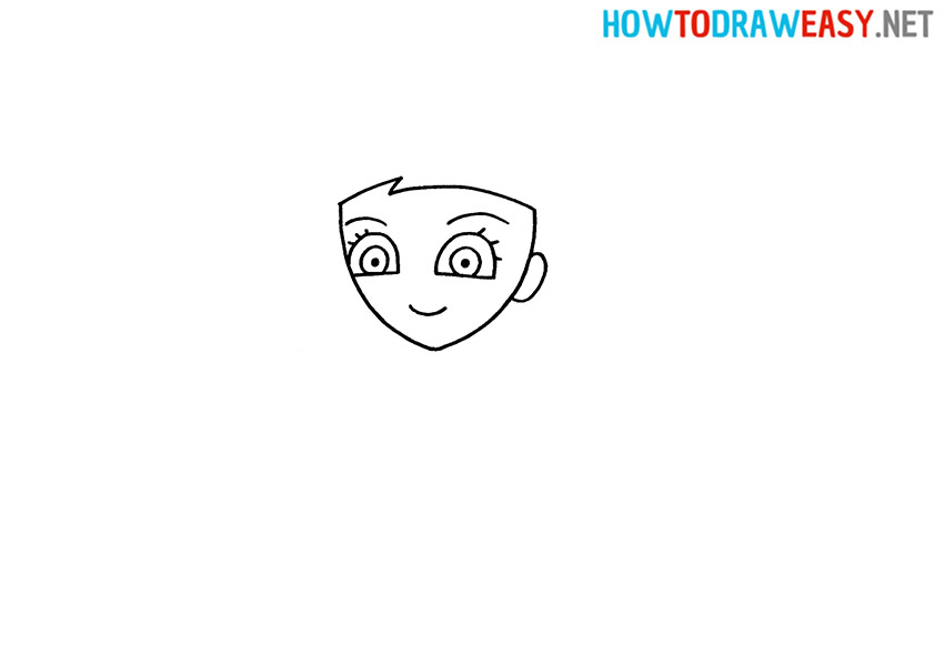 How to Draw an Easy Elsa