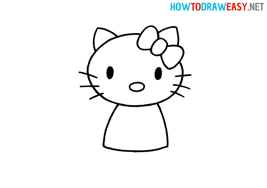 How to Draw an Easy Hello Kitty