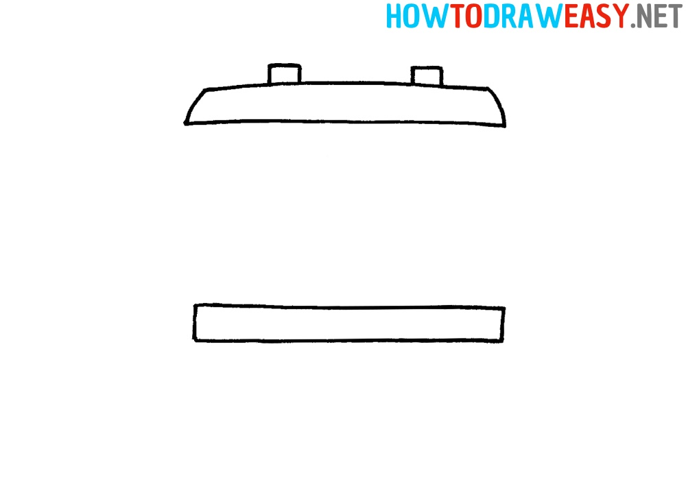How to Draw an Easy Train