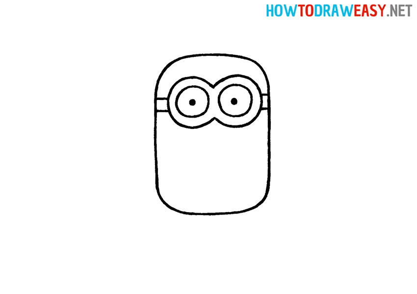 Minion Easy Drawing