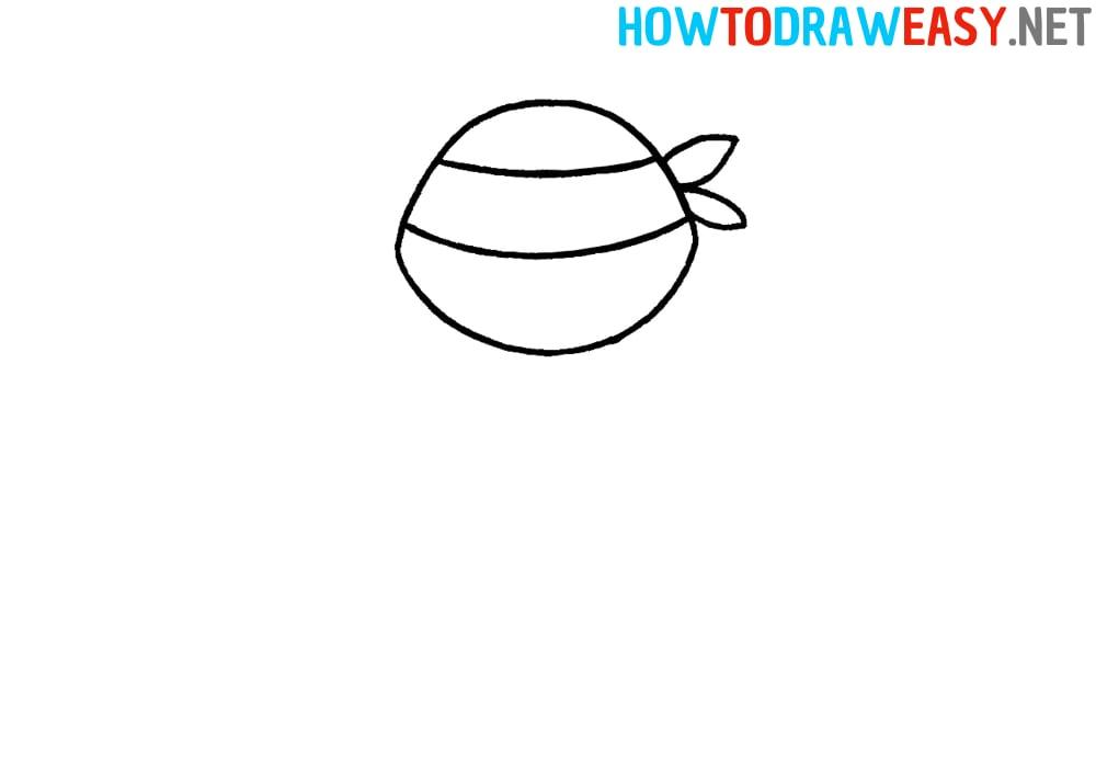Raphael Ninja Turtle Drawing