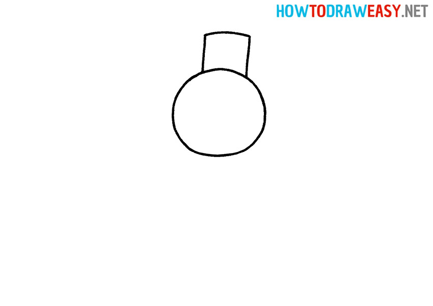 Snowman How to Draw