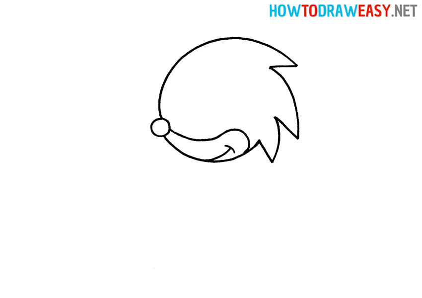 Sonic How to Draw