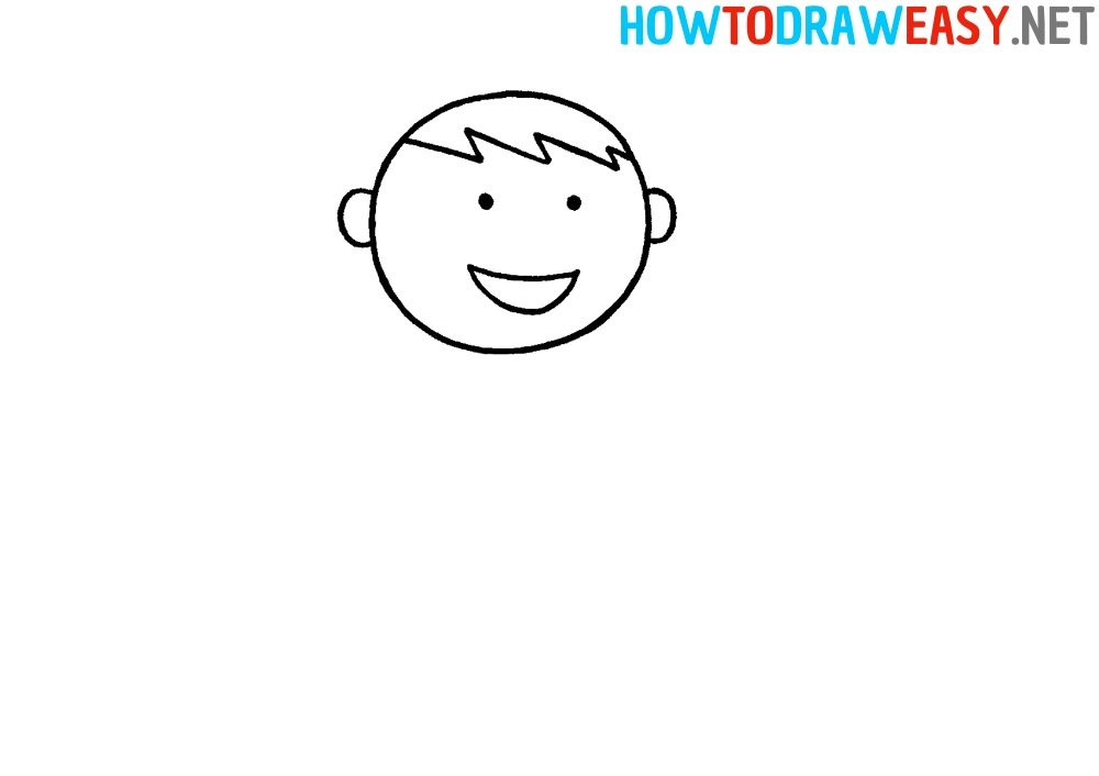 Step by Step Karate Drawing for Kids