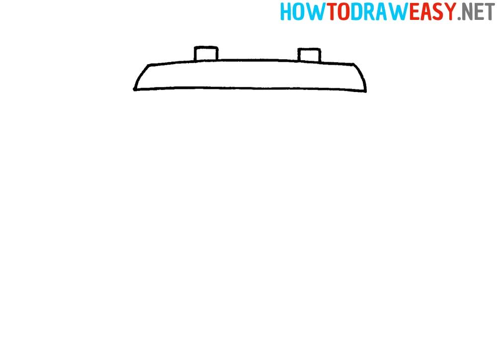 Train Easy Drawing Tutorial