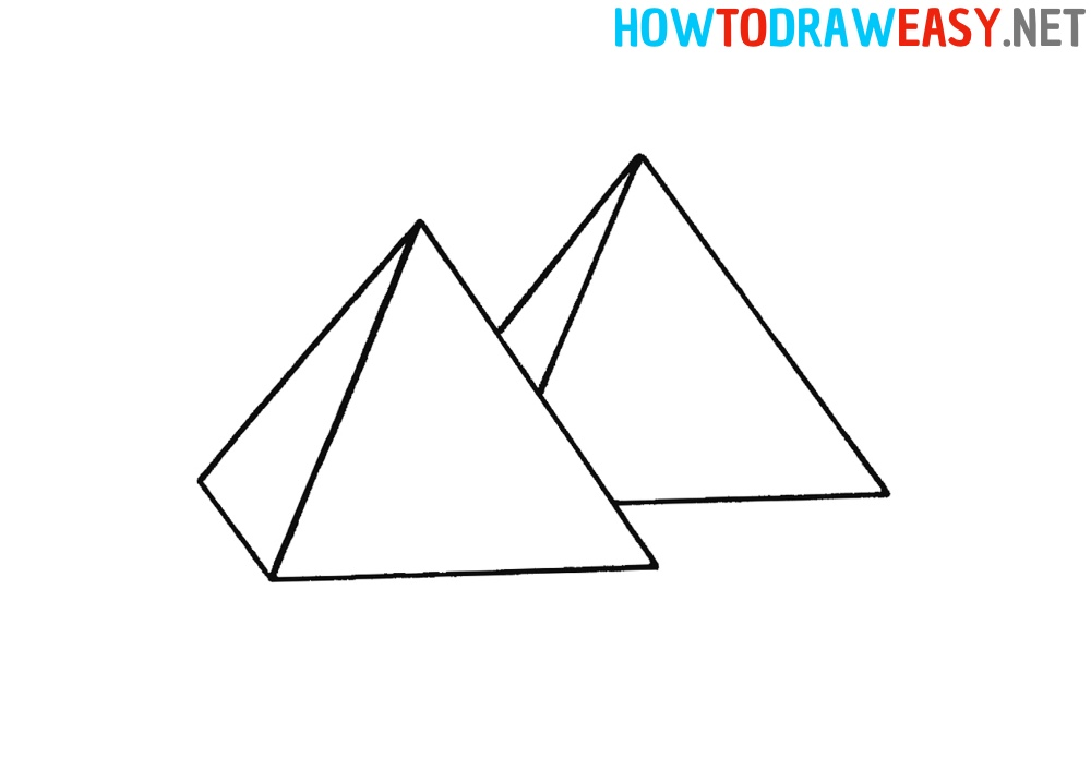 pyramid how to draw
