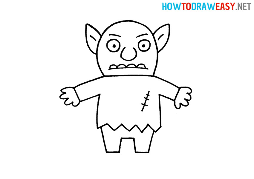 Goblin How to Draw