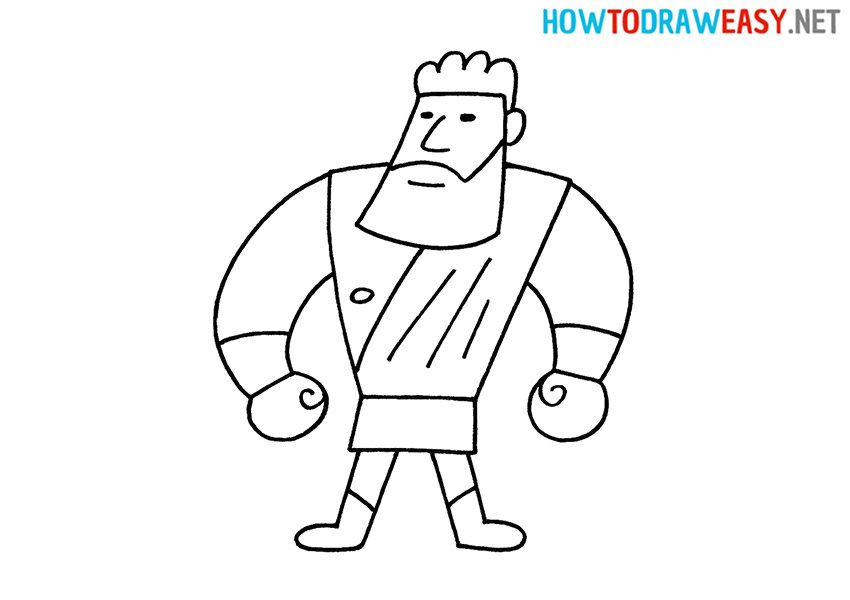 Hercules How to Draw