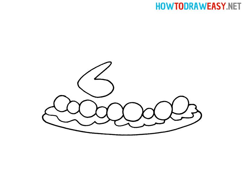 How do You Draw a Roast Turkey