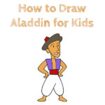 How to Draw Aladdin for Kids