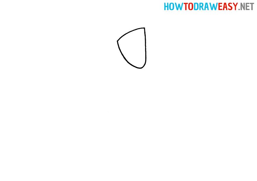 How to Draw Aladdin Step 1