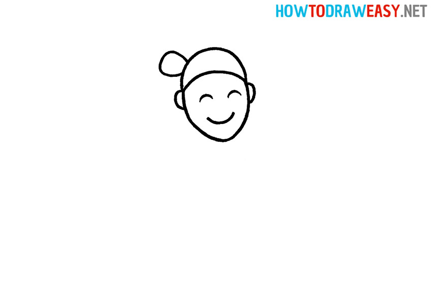 How to Draw Gymnastic Girl