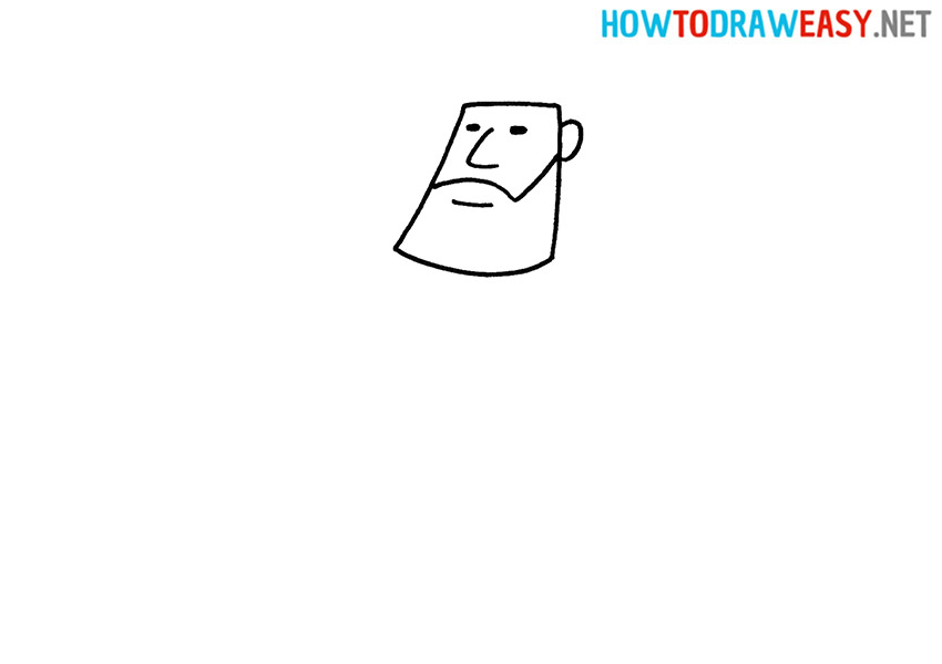 How to Draw Hercules Face