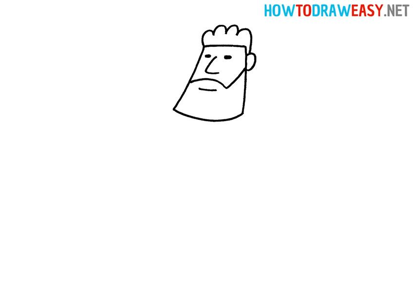 How to Draw Hercules Head