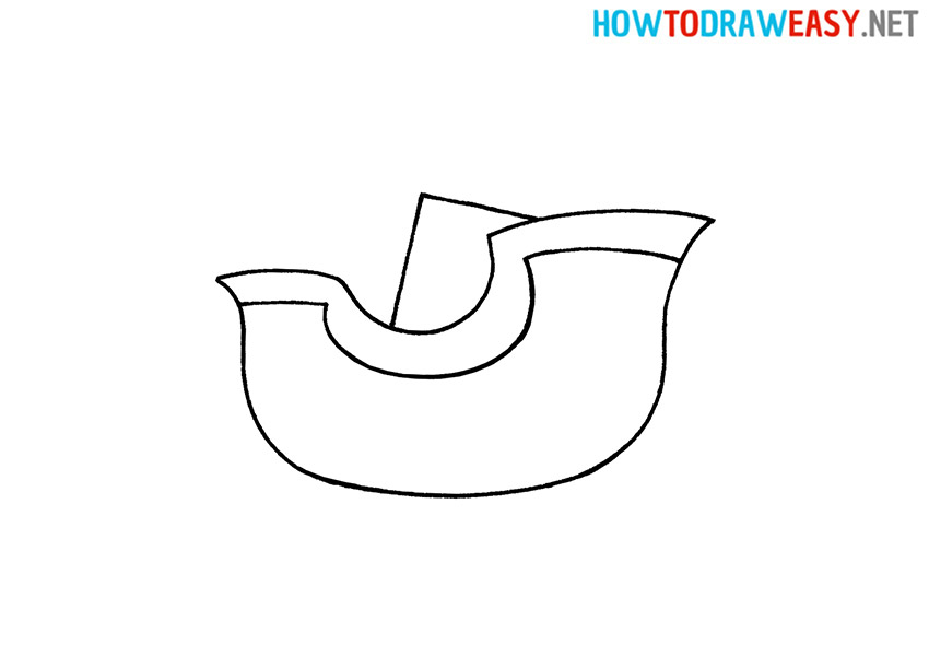 How to Draw Santas Sleigh Easy