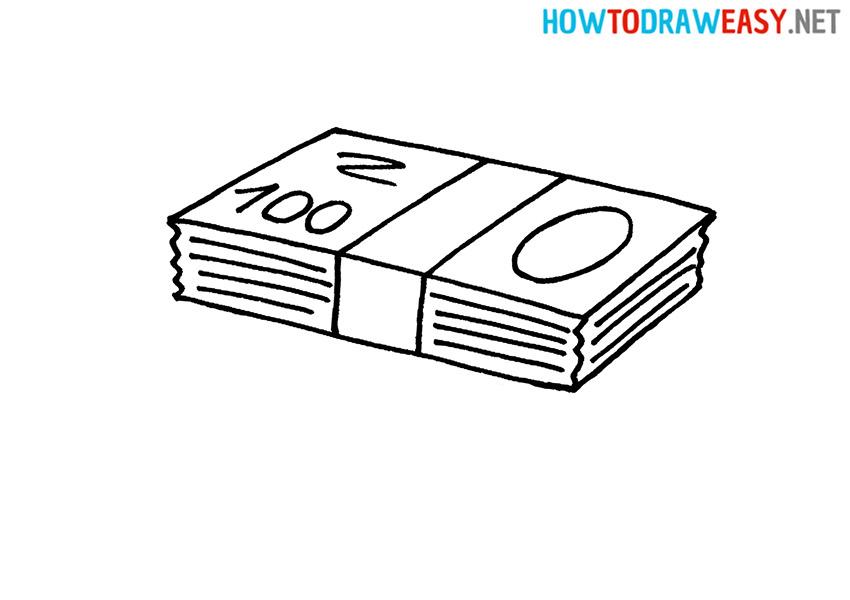 How to Draw a Bundles Money