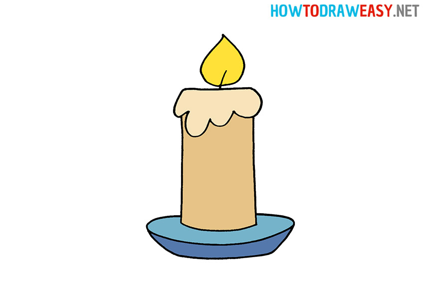 How to Draw a Candle