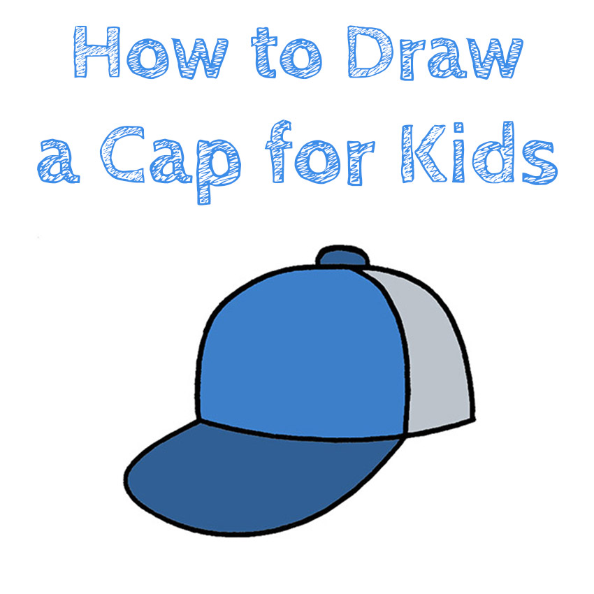 How to Draw a Cap for Kids