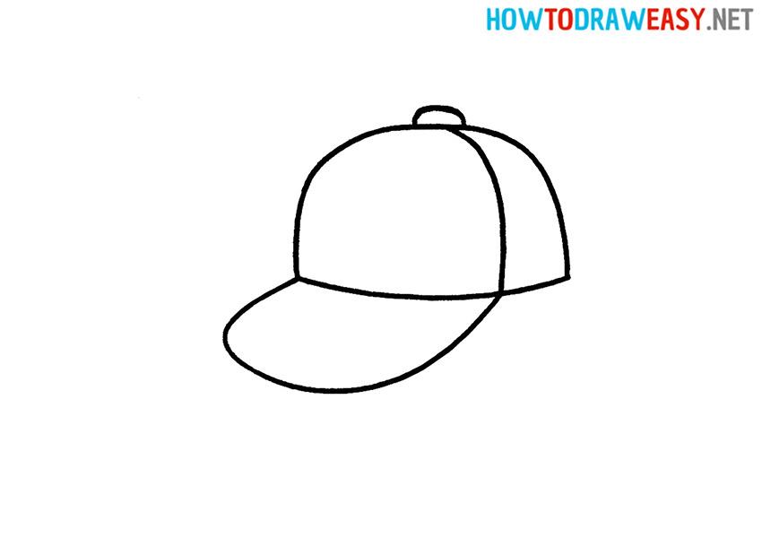 How to Draw a Cartoon Cap