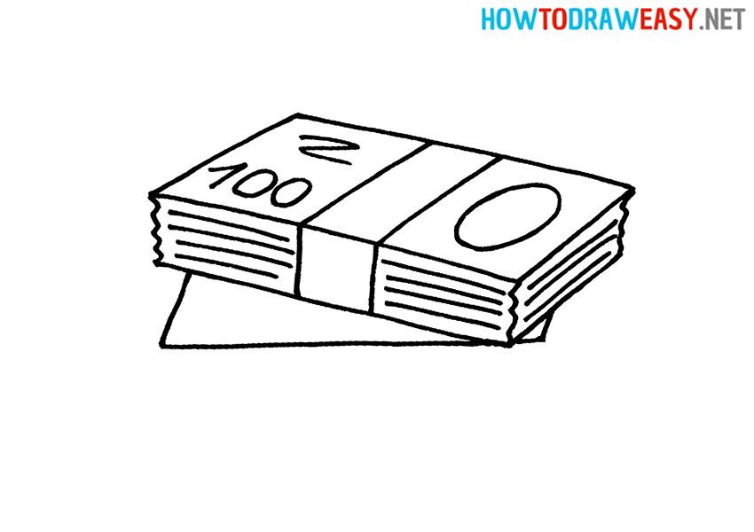 How to Draw a Cartoon Money