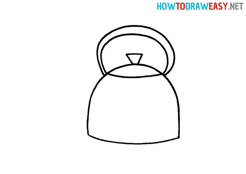 How to Draw a Cartoon Teapot