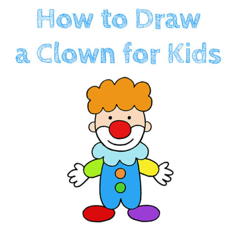 How to Draw a Clown Easy