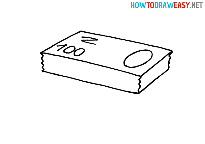 How to Draw a Dollar Money