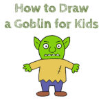 How to Draw a Goblin for Kids