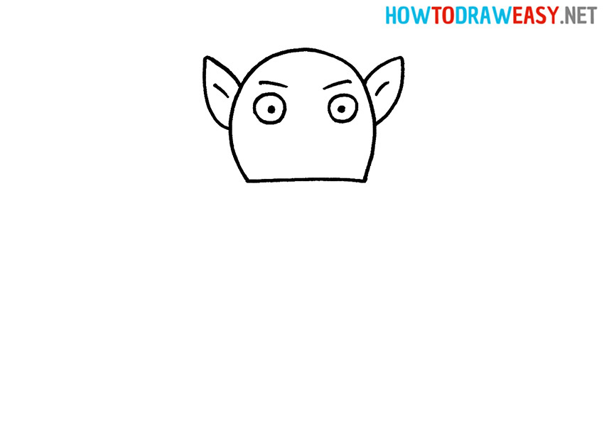How to Draw a Simple Goblin