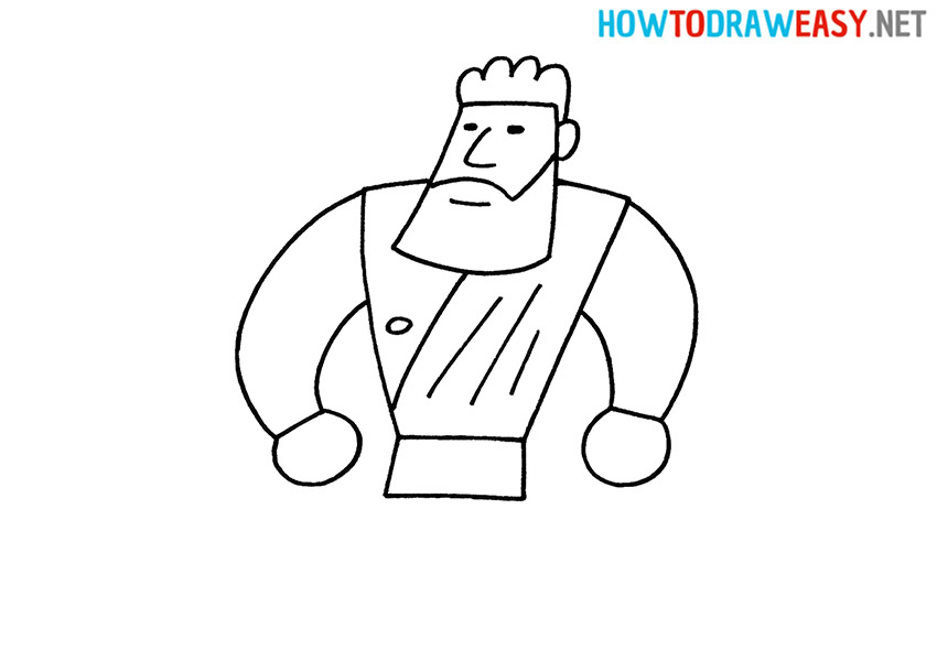 How to Draw a Simple Hercules