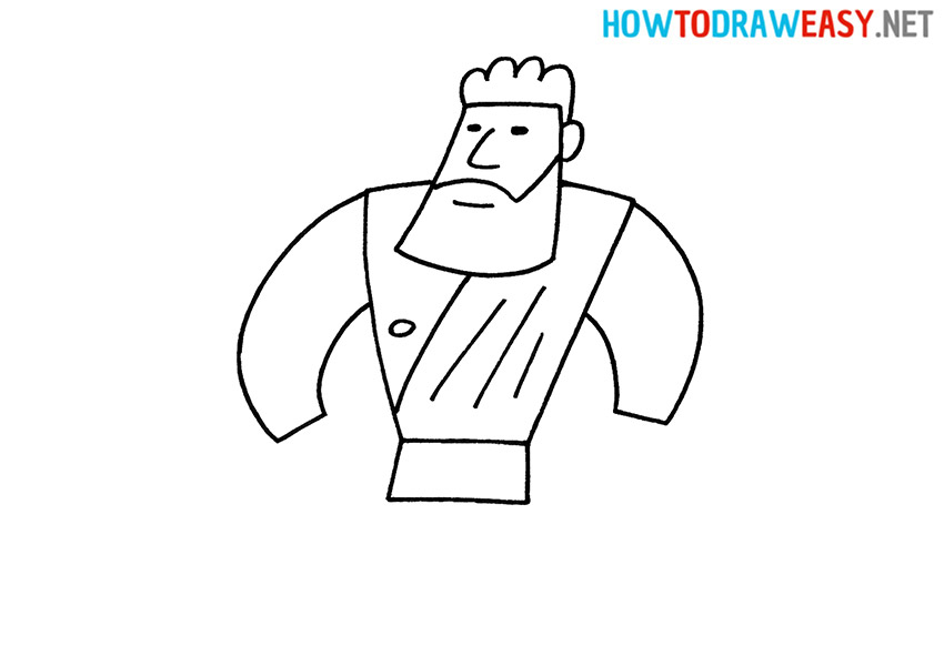 How to Draw a Strong Hercules