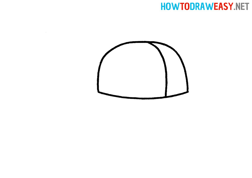 How to Draw an Easy Cap