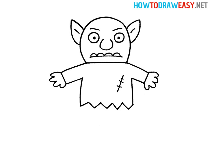 How to Draw an Easy Goblin