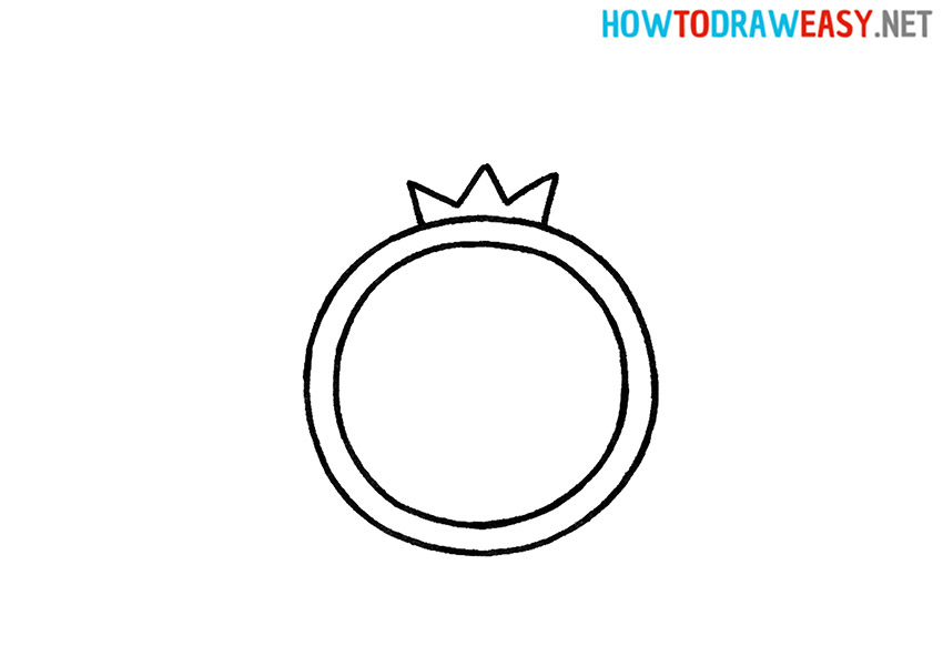 How to Draw an Easy Ring