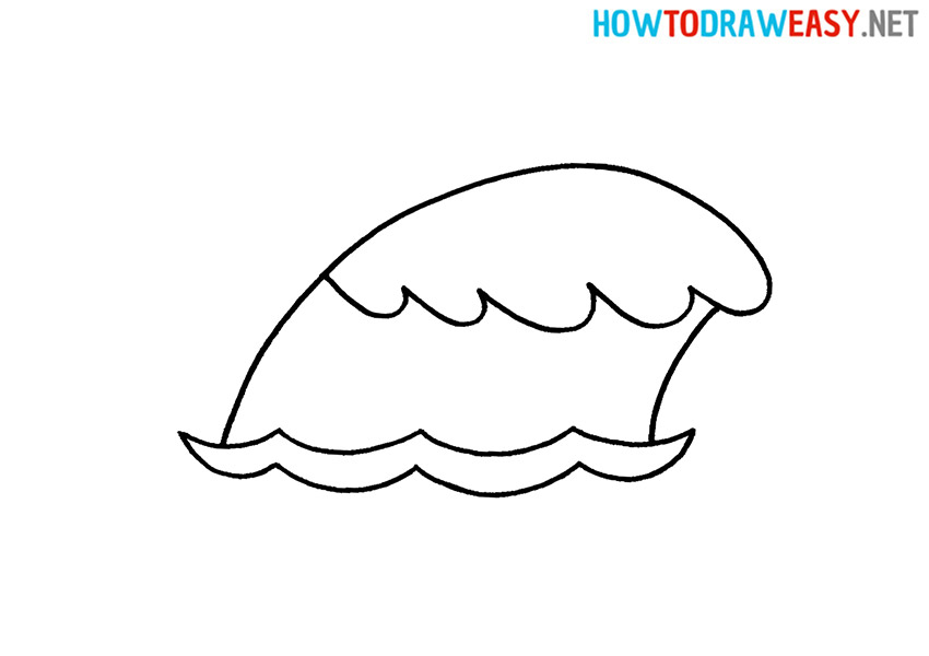 How to Draw an Easy Wave