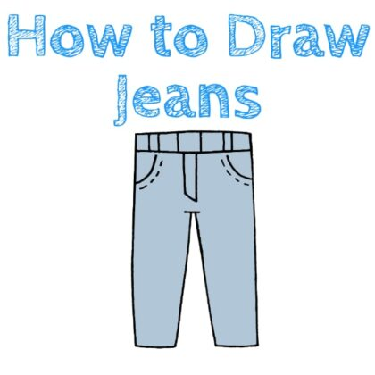 Jeans How to Draw