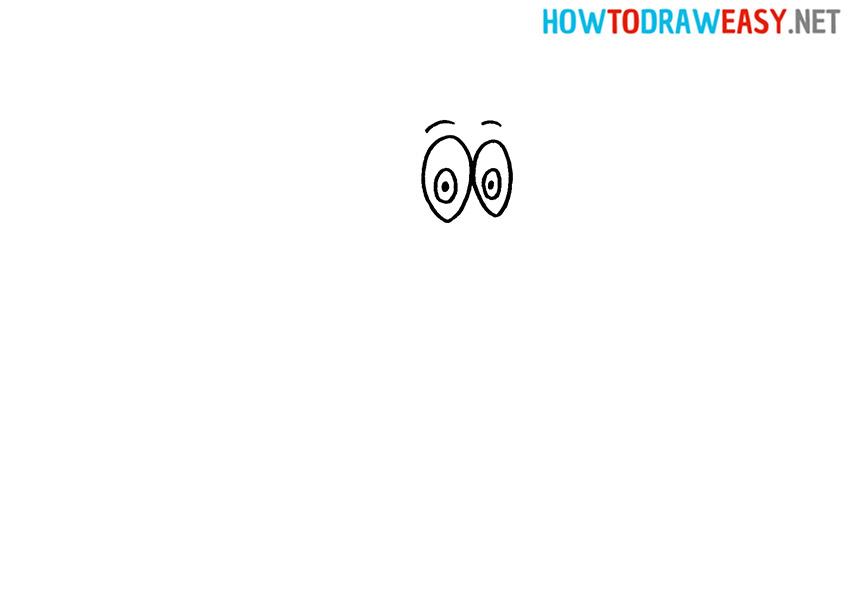 Sketching Woody Woodpecker