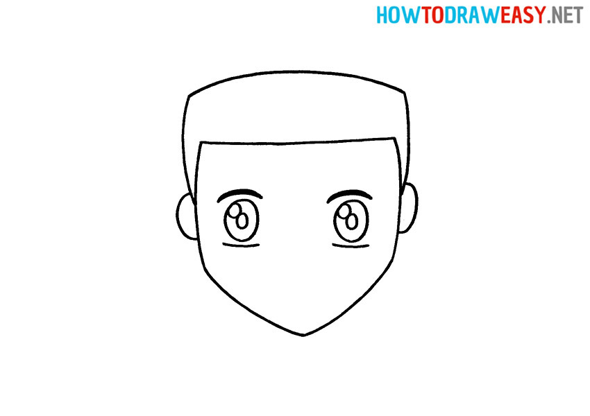 Anime Face How to Draw