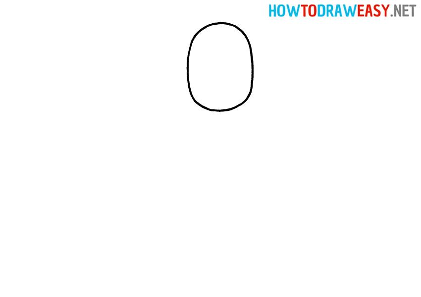 Chibi Thanos Drawing