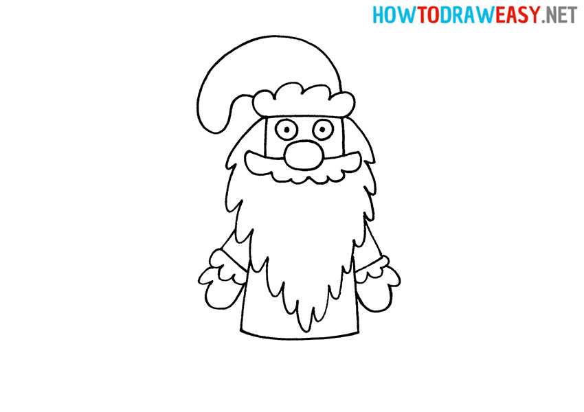 Ded Moroz How to Draw