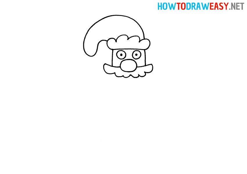 Draw Ded Moroz