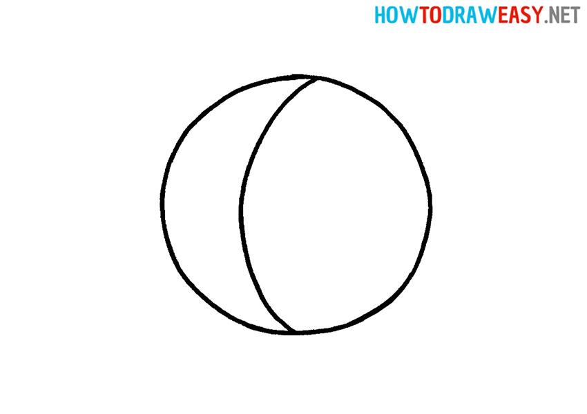 Easy Basketball Drawing