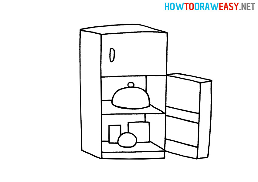 Fridge How to Draw