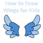 How to Draw Wings for Kids