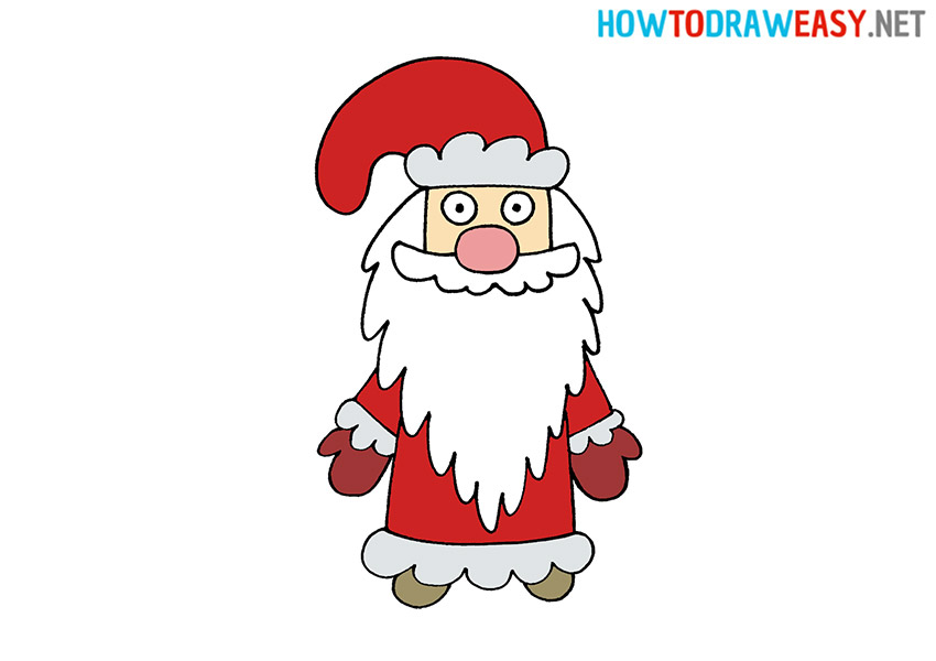 How to Draw Ded Moroz