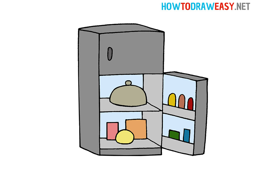 How to Draw a Fridge