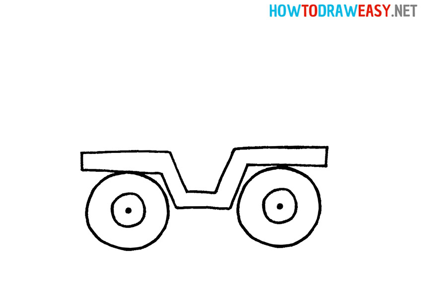 How to Draw a Military Jeep