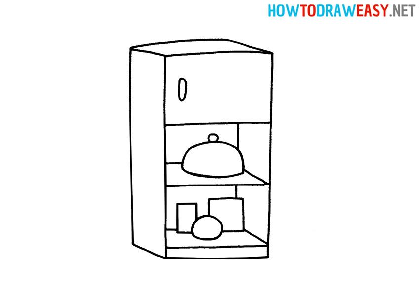 How to Draw a Refrigerator