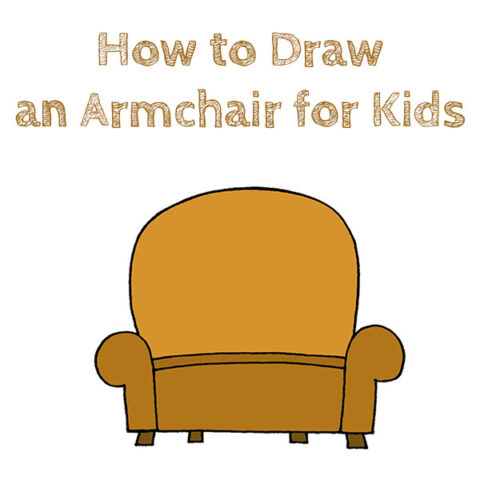 How to Draw an Armchair Easy